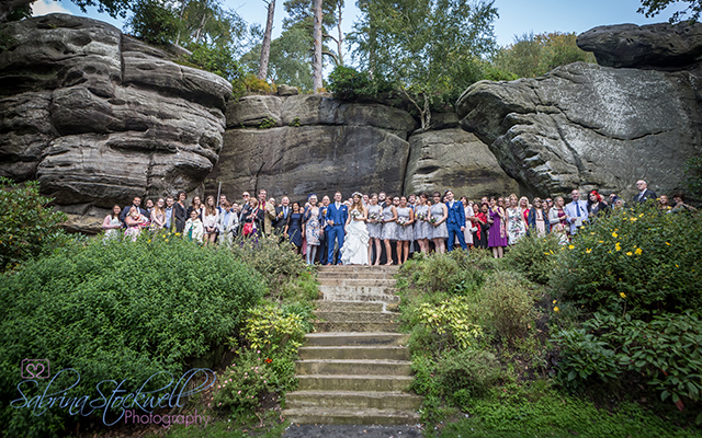 Wedding In Tunbridge Wells Kent High Rocks